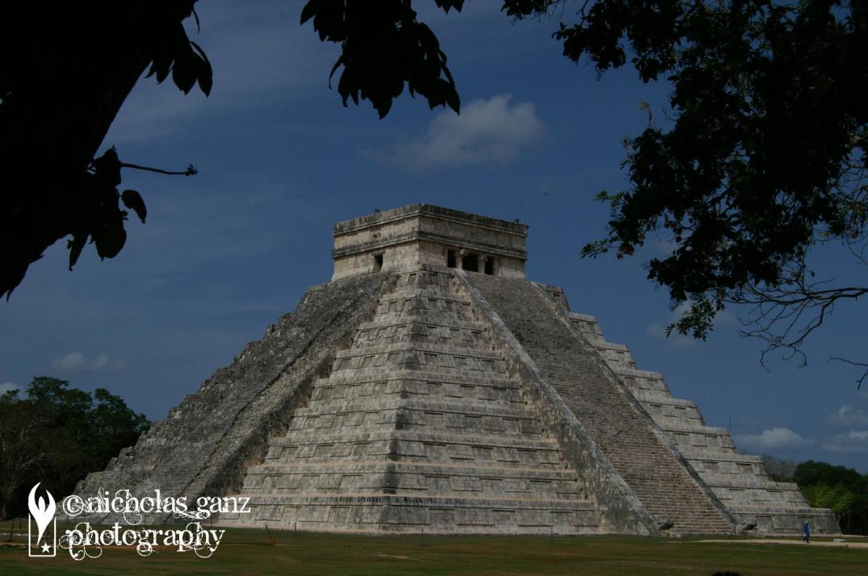 Die Kukulcán Pyramide im Herzen der tempelstadt Chichen Itza.