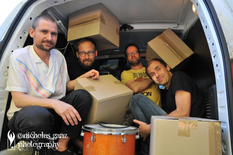 Die Band Bum aus Berlin.